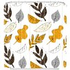 DENY Designs Mummysam Fall Leaves Shower Curtain