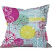 DENY Designs Rachael Taylor Snowflake Stems Indoor Throw Pillow