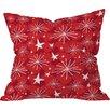 DENY Designs Julia Da Rocha Snow and Stars Indoor Throw Pillow