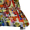 DENY Designs Robin Faye Gates It Came From Detroit Indoor/Outdoor Throw Pillow