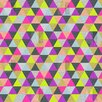 DENY Designs Bianca Green Ocean of Pyramid Shower Curtain
