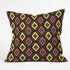 DENY Designs Jacqueline Maldonado Zig Zag Ikat Indoor/Outdoor Throw Pillow
