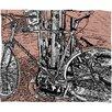 DENY Designs Romi Vega Bike Throw Blanket