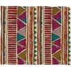 DENY Designs Valentina Ramos Ethnic Stripes Throw Blanket