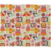 DENY Designs Valentina Ramos Cute Little Owls Throw Blanket