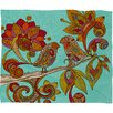 DENY Designs Valentina Ramos Hello Birds Throw Blanket