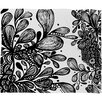DENY Designs Julia Da Rocha Wild Leaves Throw Blanket