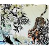 DENY Designs Aimee St Hill Tiger Tiger Throw Blanket