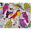 DENY Designs Mary Beth Freet Couture Home Birds Throw Blanket