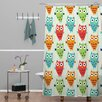 DENY Designs Andi Bird Owl Fun Shower Curtain