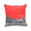 DENY Designs Bird Ave Miami Throw Pillow