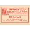 Buyenlarge 'Muriatic Acid' Textual Art