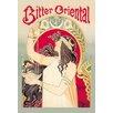 Buyenlarge 'Bitter Oriental' by Alphonse Mucha Vintage Advertisement