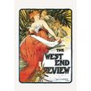 Buyenlarge 'The West End Review' by Alphonse Mucha Vintage Advertisement