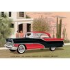 Buyenlarge 'Packard Clipper at the Camelback Inn' Painting Print