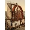 Buyenlarge 'Laxey The Wheel Isle of Man England' Photographic Print