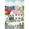 Buyenlarge 'Farm House' by Julia Letheld Hahn Painting Print