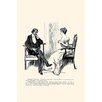 Buyenlarge 'Being a Writer' by Charles Dana Gibson Painting Print