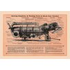 Buyenlarge Showing Simplicity of Working Parts of 28x46 Case Thresher Graphic Art