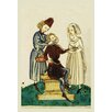 Buyenlarge Medieval Dental Practitioner Painting Print