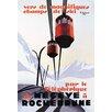 Buyenlarge Skiing and Tram by Paul Ordner Vintage Advertisement
