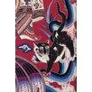 Buyenlarge 'Curtain Cat' Graphic Art