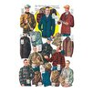 Buyenlarge 'Men's Shirts, Sweaters, and Wind Breakers' Painting Print
