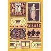 Buyenlarge 'Greek Figures' by Auguste Racinet Graphic Art