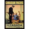 Buyenlarge Canadian Pacific to Canada by H.R.B. Vintage Advertisement