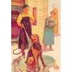 Buyenlarge 'Dog Wash' Painting Print