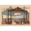 Buyenlarge 'Exhibit of Tiffany and Co' Framed Painting Print