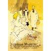 Buyenlarge 'L' Artisan Moderne' by Henri de Toulouse-Lautrec Vintage Advertisement