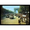 Buyenlarge 'Crowds of French Patriots Line the Champ Elysess' by Jack Downey Photographic Print