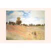 Buyenlarge 'Les Coquelicots' by Claude Monet Painting Print
