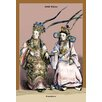 Buyenlarge Chinese Concubines, 19th Century by Richard Brown Painting Print