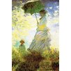 Buyenlarge 'Madame Monet and Son' by Claude Monet Painting Print