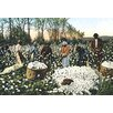 Buyenlarge Cotton Field Workers Painting Print
