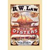 Buyenlarge 'R.L. Law Oysters' Vintage Advertisement