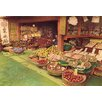 Buyenlarge Grocery and Fruit Shop by Imperial Art School of Japan Photographic Print