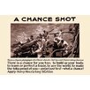 Buyenlarge 'A Chance Shot' by Lt. Sellers Vintage Advertisement