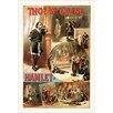 Buyenlarge 'Thos W. Keene as Hamlet' by W.J. Morgan & Co. Vintage Advertisement