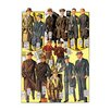 Buyenlarge Stylish Boys and Youths with Suits and Coats Painting Print
