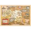 Buyenlarge Map of Russia by A. Ortelius Graphic Art