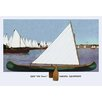 Buyenlarge Sailing Equipment Painting Print