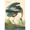 Buyenlarge Great Heron by John James Audubon Painting Print