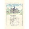 Buyenlarge A French Suburban Chateau by Richard Brown Graphic Art