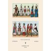 Buyenlarge Oceani Malaysians and Indonesians by Auguste Racinet Graphic Art