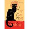 Buyenlarge Tournee du Chat Noir by Theophile Alexandre Steinlen Vintage Advertisement