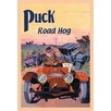 Buyenlarge Puck Road Hog by E. Baker Vintage Advertisement
