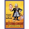 Buyenlarge We Have Always on Hand a Keystone Comedy: Western Import Company Framed Vintage Advertisement